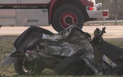Una persona muerta dejó el choque de varios vehículos en la interestatal...