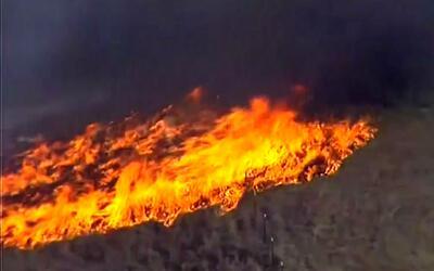 Incendio forestal se extiende por el sureste del estado de Oklahoma