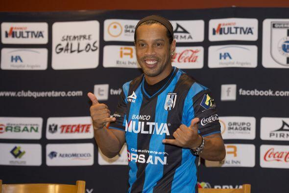 Al final de todo  parece que Ronaldinho le traerá más beneficios al Quer...