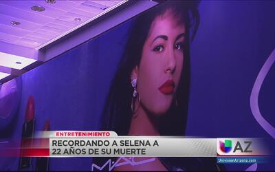 Recordando a Selena Quintanilla a 22 años de su muerte