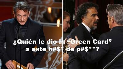 """Sean Penn y """"bromita racista"""" en los Oscars que enfureció a los mexicanos"""