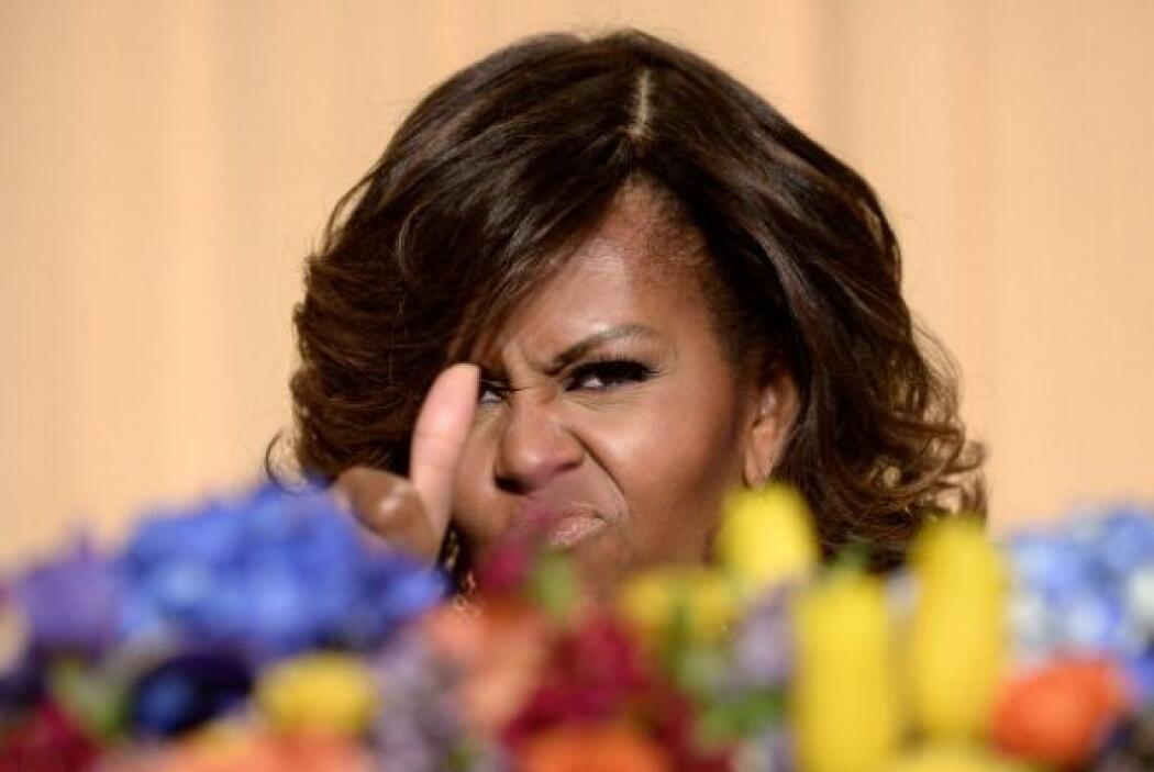 Y la primera dama no se escapó de uno que otro chascarrillo.