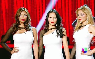 Carolina, María Delgado y Josephine estuvieron en la línea de jueces, ¿q...