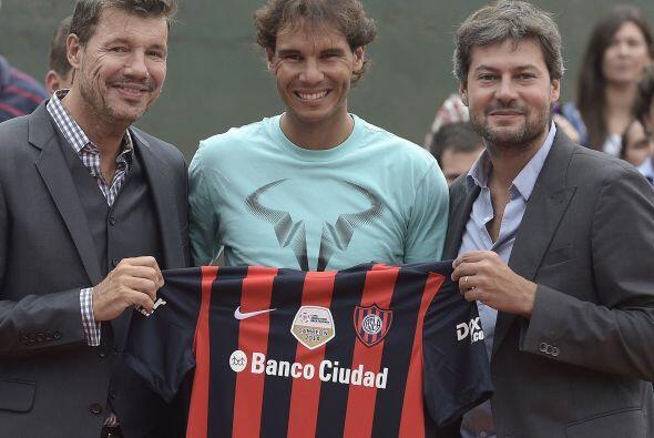 Nadal jugó un dobles en pareja con el alcalde de Buenos Aires, Ma...