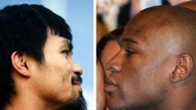 Manny Pacquiao y Floyd Mayweather Jr., la pelea que todos piden.