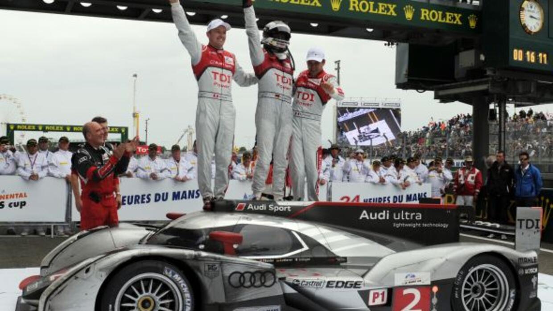 Audi ganó las 24 horas de Le Mans por décima vez, permaneciendo como el...