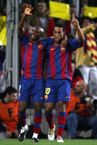 El delantero camerunés marcó un tanto en su duelo ante su anterior club,...