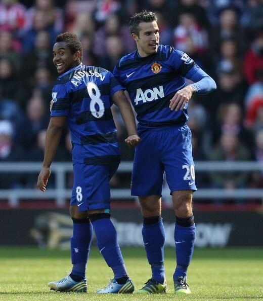 Van Persie hizo un gol decisivo y rompió su particular sequ&iacut...