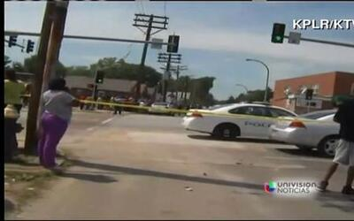 Policía de St. Louis mata a un joven cerca de Ferguson