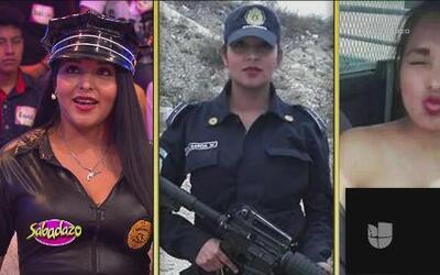 Nidia García, la expolicía que saltó a la fama por una fotografía
