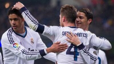 Sergio Ramos fue héroe y villano madridista al marcar el segundo gol per...