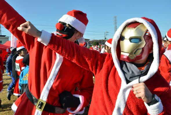 Hasta un Santa Iron Man nos sorprendió.