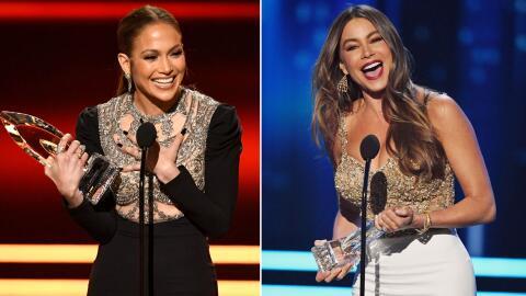 Jennifer Lopez y Sofía Vergara fueron de las grandes ganadores de los Pe...