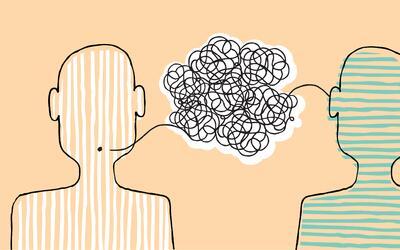Hay personas que recuperan el habla normal de manera paulatina o a trav&...