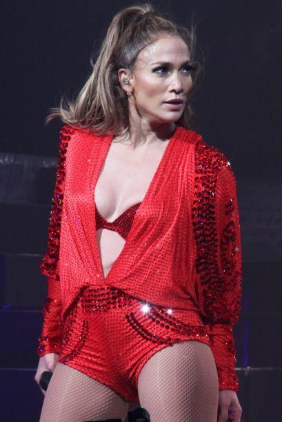 Después de tanto baile y brinco, Jennifer López comenzó a optar por un v...