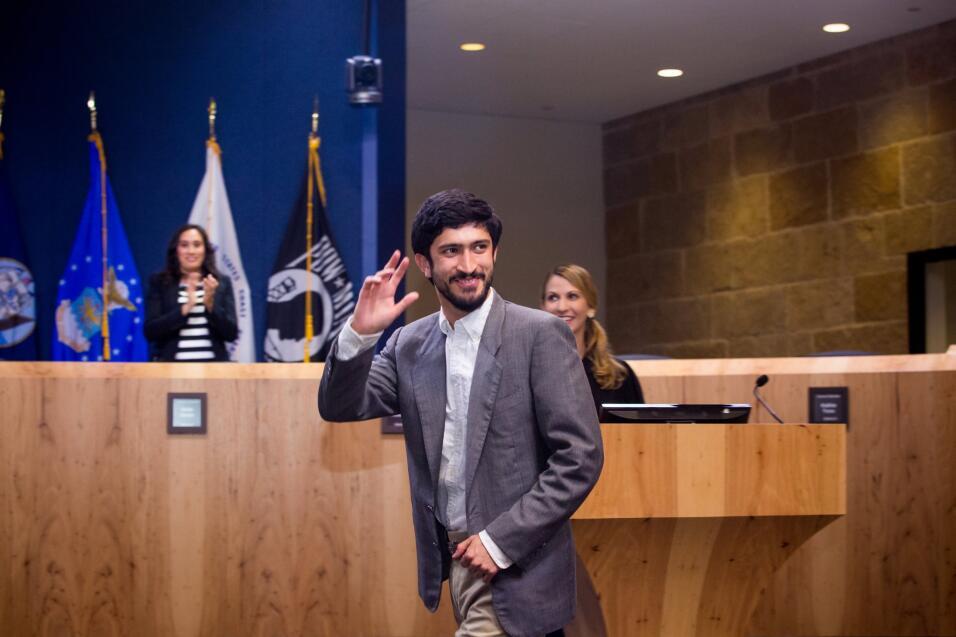 Gregorio Casar, regidor de Austin