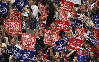 La última noche de la convención cerrará con el discurso del candidato e...