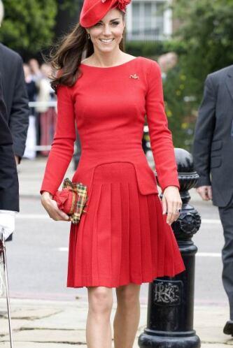 Middleton sabe vestir con muy buen gusto, es por eso que no deja a un la...