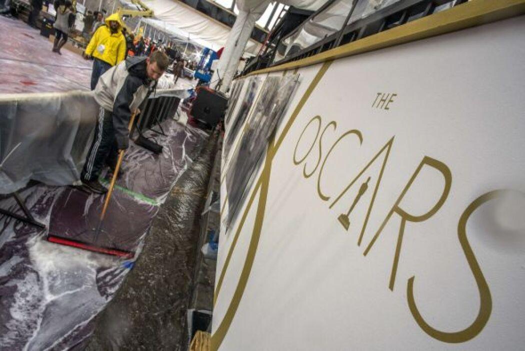 Los Oscars están a la vuelta de la esquina y entre la lluvia y las prote...