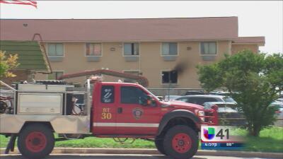Detienen a dos sospechosos de incendio