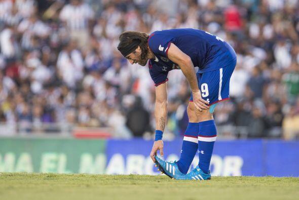 La delantera no se ha salvado de visitar al doctor, Mariano Pavone no ha...