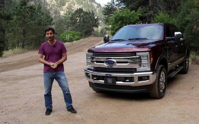 Ford F-Series Super Duty 2017 – A Bordo Prueba Completa