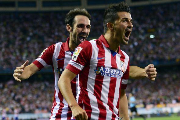 Y qué golazo logró el delantero asturiano, quien prendió de aire un cent...