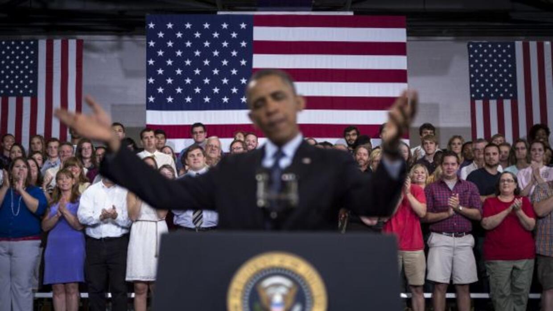 El Presidente llegó a Galesburg, Illinois en donde ofreció un discurso.