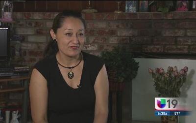 Araceli Navarro, una inmigrante que vive esperanzada en regresar a México