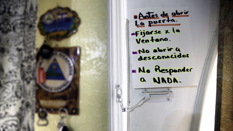 El temor en los indocumentados a ser detenidos está presente hasta en lo...