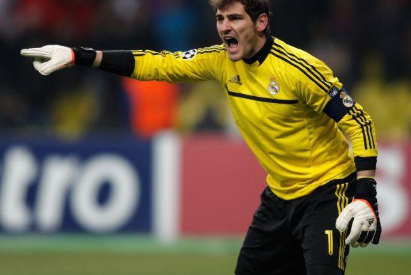 El portero Iker Casillas le pedía máxima concentración a sus compañeros...