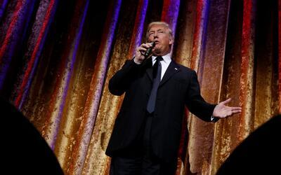 """Donald Trump: """"No me gusta tuitear, pero la prensa es muy deshonesta y e..."""