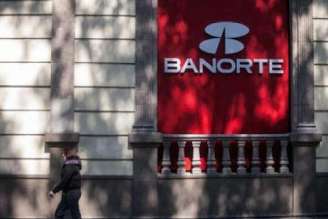 7.- Banorte tiene un valor de 1,942 millones de dólares. (Imagen tomada...