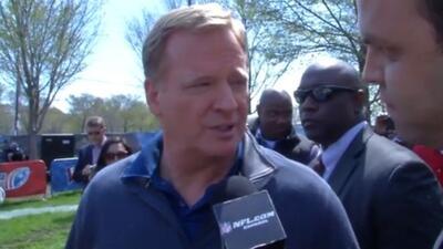 Roger Goodell: Los fans latinos son prioridad para la NFL