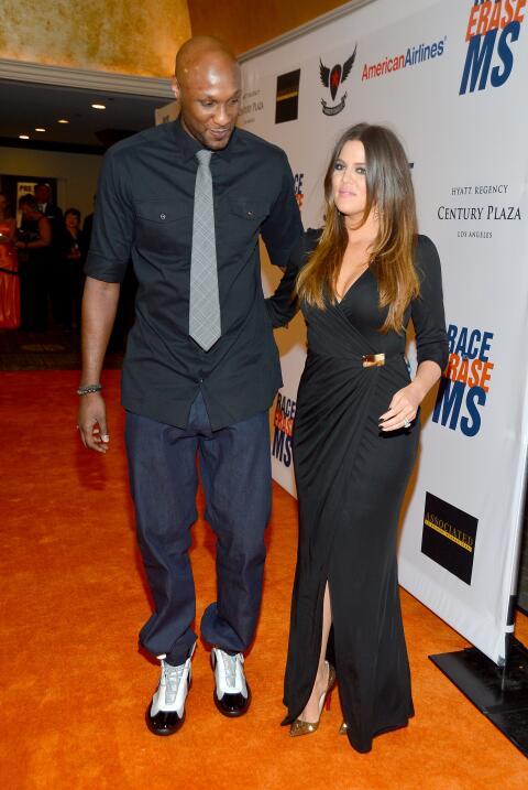 Khloé Kardashian y Lamar Odom