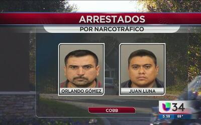 Arrestados por narcotráfico