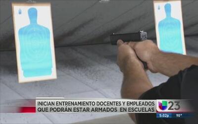 Maestros texanos portarán armas