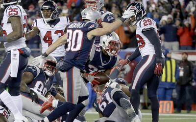 Triunfo con autoridad de New England sobre Houston