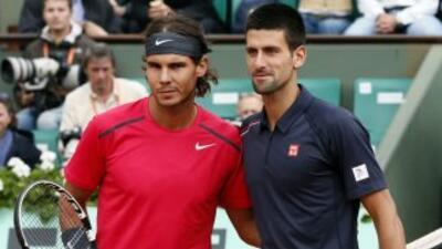 Nadal se impuso a Djokovic en la final de Roland Garros 2012 con victori...