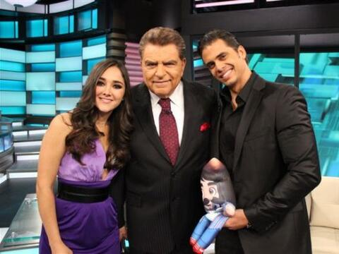 En Don Francisco dos grandes actores