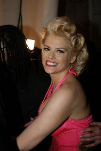 Anna Nicole Smith La actriz y modelo tuvo una vida llena de escándalos.