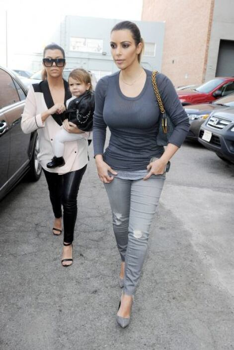 La menor de las Kardashian no pudo encargar familia durante su matrimoni...