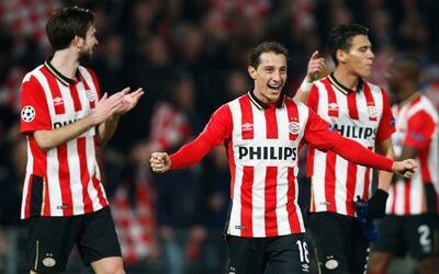 Guardado no pudo jugar para el Tri, pero sí lo hará para el PSV