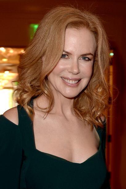Nicole Kidman es otro claro ejemplo de cómo pueden lucir una ondas suave...
