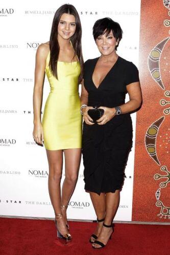 Kendall Jenner no es tan famosa como su media hermana Kim Kardashian, pe...