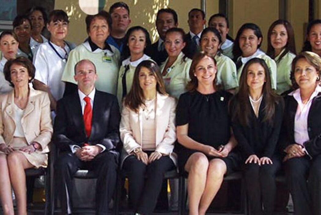 """""""Me voy tranquila sabiendo que los niños de las mujeres mexicanas están..."""