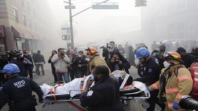 Víctimas hispanas entre los fallecidos tras el colapso de edificios en N...