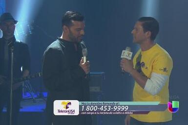 Ricky Martin un boricua con mucho corazón te pide que dones al Teletón USA