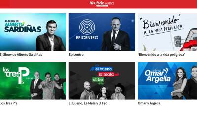 Uforia Audio- On-Demand tiene para ti 17 podcasts con la mejor informaci...