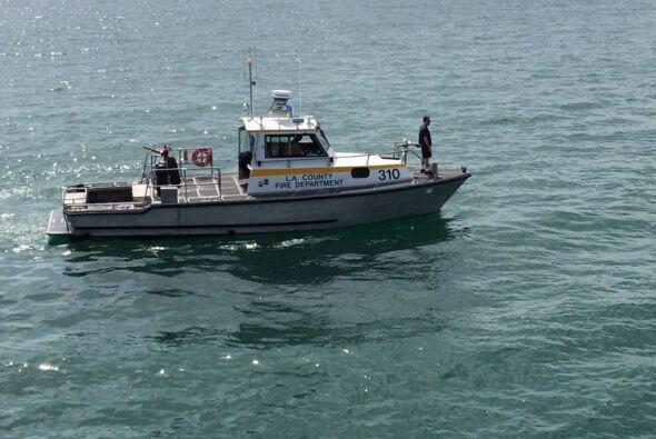 Las autoridades costeras recorrieron la zona en búsqueda de posibles víc...